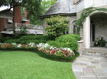 Dallas Landscape Design And Yard Maintenance Highland Park